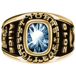 Women's Classic Oval Class Ring