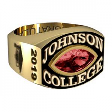 Men's Round Square Marquise Stone Class Ring