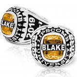 Men's Personalized-Top Traditional Class Ring
